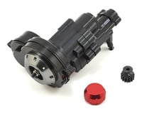 Xtra Speed SCX10 II Kit Aluminum Transmission Assembly (Black)