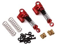 Yeah Racing SCX24 Aluminum Shock (Red) (2)