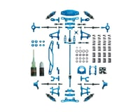 SCRATCH & DENT: Yeah Racing Tamiya TT-02 Aluminum Upgrade Kit (Blue)