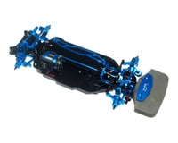 Image 2 for Yeah Racing Tamiya TT-02 Aluminum Upgrade Kit (Blue)
