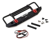 Yeah Racing Aluminum Front Bumper w/LED Light (Black) | relatedproducts