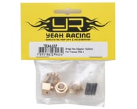 Image 2 for Yeah Racing Traxxas TRX-4 12mm Brass Hex Adapter w/8mm Offset (4)