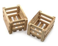 Yeah Racing 1/10 Crawler Scale Accessory Set (Wooden Crates)