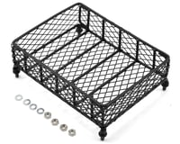 Yeah Racing 1/10 Crawler Scale Metal Mesh Roof Rack Luggage Tray (13x10x3.5cm)