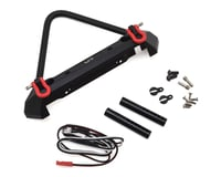 Yeah Racing Aluminum Front Stinger Bumper w/LED Light (Black)