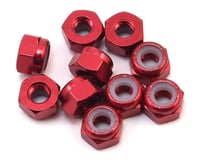Yeah Racing 3mm Aluminum Lock Nut (10) (Red) | alsopurchased