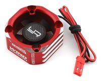 Yeah Racing 30x30 Aluminum Case Booster Fan (Red)