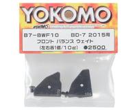 Yokomo Right/Left Front Balance Weight (10g ea)