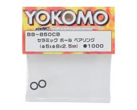 Image 2 for Yokomo 5x8x2.5mm Ceramic Ball Bearing (2)