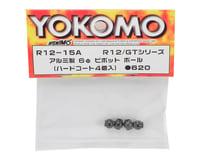 Image 2 for Yokomo 6mm Aluminum Pivot Ball Set (4)