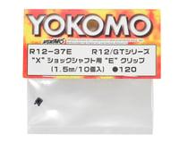 """Image 2 for Yokomo 1.5mm """"X"""" Shock Shaft E-Clip Set (10)"""