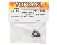 Image 2 for Yokomo YR-X12 Aluminum Rear Wheel Hub (Left)