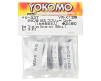 Yokomo YR-X12 2019 Titanium M3 Screw Set