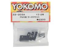 Image 2 for Yokomo Aluminum Servo Mount (Black)