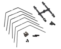 Yokomo YZ-2 DTM3 DTM 3/CA L3 Rear LD Stabilizer Sway Bar Set (6)