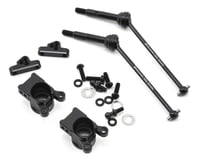 Yokomo YZ-4 Aluminum Offset Rear Hub Carrier Set (0 Degree)