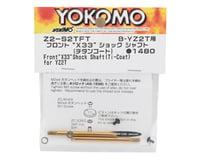 """Image 2 for Yokomo YZ-2T Front """"X33"""" Titanium Coated Shock Shaft (2)"""