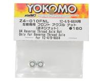 Yokomo M4 Reverse Screw Serrated Axle Nut (Left Side Only)
