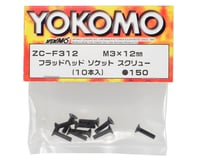 Image 2 for Yokomo 3x12mm Flat Head Screw (10)