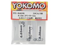 Yokomo 4mm Spacer Shim Set | alsopurchased