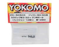 Image 2 for Yokomo 3/32 Ceramic Precision Differential Ball Set (12)