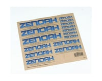 Zenoah Decal Sheet | relatedproducts