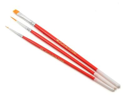 Atlas Brush Golden Taklon-Triangle Handle 20//0 ABS970-20//0