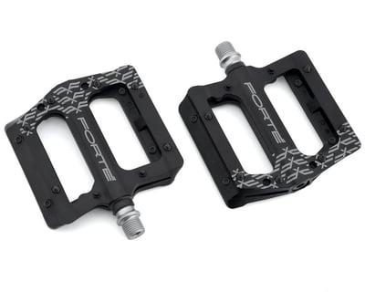 Black S1 Road MTB XC AM Bike 4 Bearings Pedals Flat//Platform Pedal 108*96mm