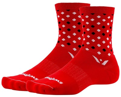 350-0505-P Fly Racing Factory Rider Socks Black//White//Red