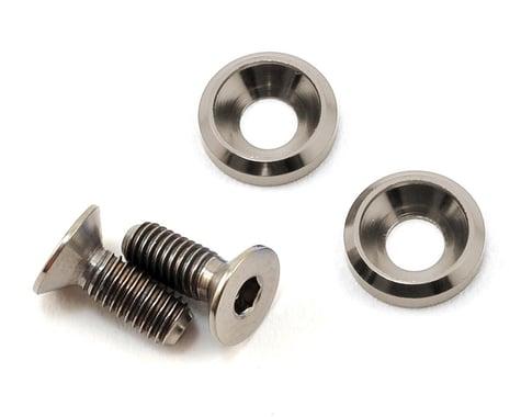 175RC 3x8mm Titanium Motor Screws (Grey)