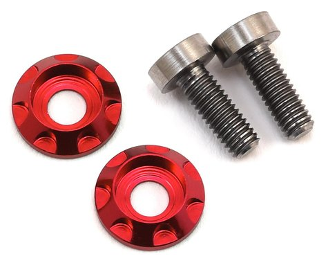 "175RC 3x8mm Titanium ""High Load"" Motor Screws (Red)"