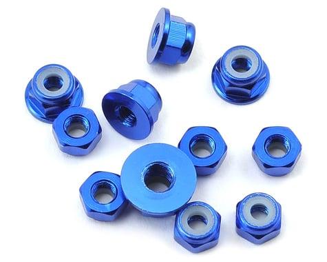 175RC B6/B6D Aluminum Nut Kit (11) (Blue)