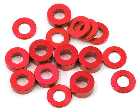 175RC M3 Ball Stud Washers (16) (Red)