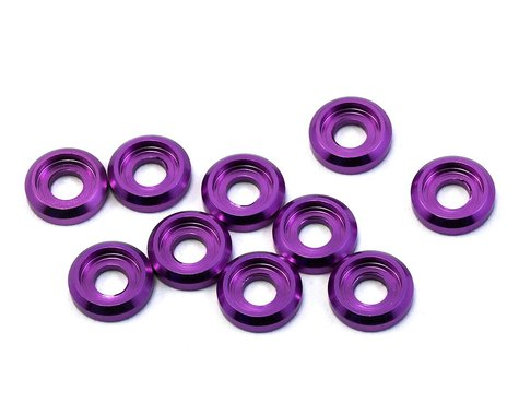 175RC Aluminum Button Head Screw High Load Spacer (Purple) (10)