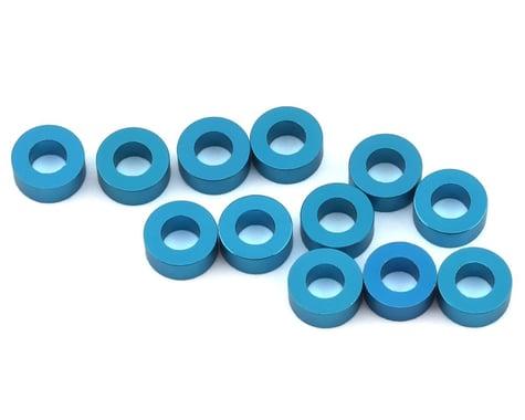1UP Racing Precision Aluminum Shims (Blue) (12) (2.5mm)