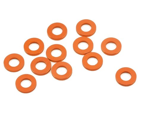 1UP Racing Precision Aluminum Shims (Orange) (12) (0.75mm)