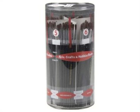 Atlas Brush Brush Cylinder Asst Dlx Camel Hair #1-6 (12 Dz)