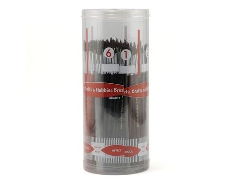 Atlas Brush Brush Cylndr Asst Economy Camel Hair #1-6 (12Dz)