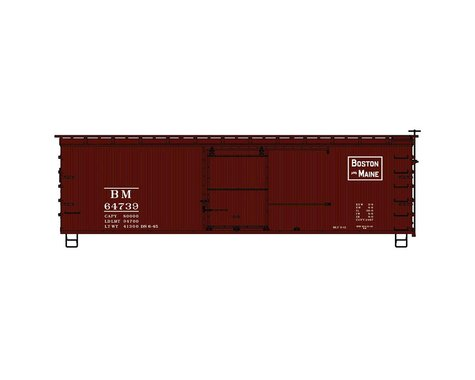 Accurail HO KIT 36' Double Sheath Box B&M