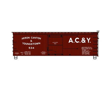 Accurail HO KIT 36' Double Sheath Box AC&Y