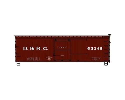 Accurail HO KIT 36' Double Sheath Box D&RGW