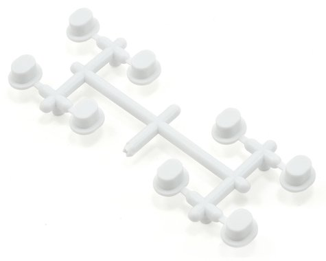Agama Hinge Pin Insert Set (White) (8)