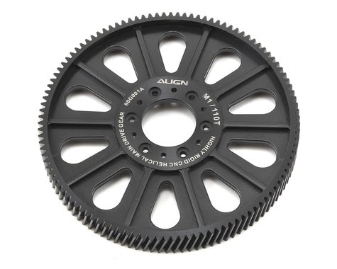Align CNC Slant Thread Main Drive Gear (110T/13.5mm)