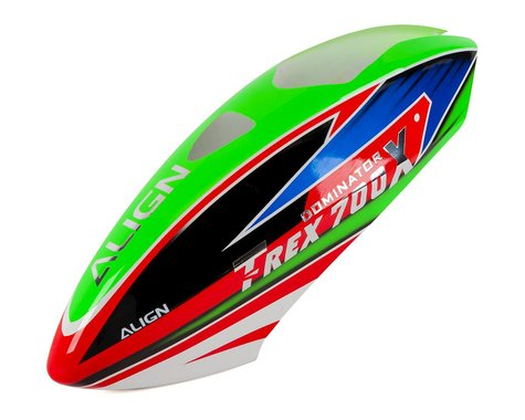 Align 700X Painted Canopy (Green/Blue/Red)
