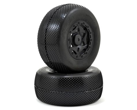 AKA Gridiron II Wide SC Pre-Mounted Tires (22SCT/TEN-SCTE) (2)
