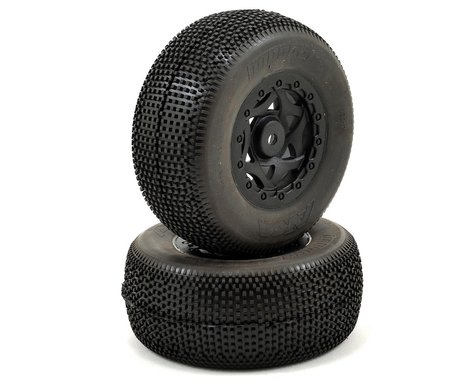 AKA Impact Wide SC Pre-Mounted Tires (TEN-SCTE) (2) (Black) (Soft)