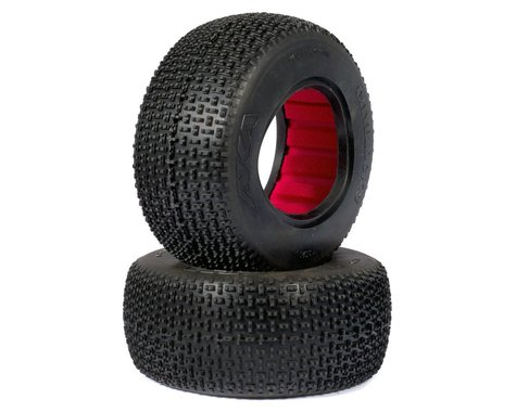 AKA Cityblock 3 Wide Short Course Tires (2) (Super Soft)
