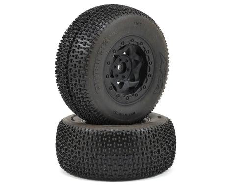 AKA Cityblock 3 Wide SC Pre-Mounted Tires (SC6/Slash) (2) (Black) (Super Soft)
