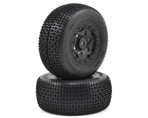 AKA Cityblock 3 Wide SC Pre-Mounted Tires (TEN-SCTE) (2) (Black) (Super Soft)