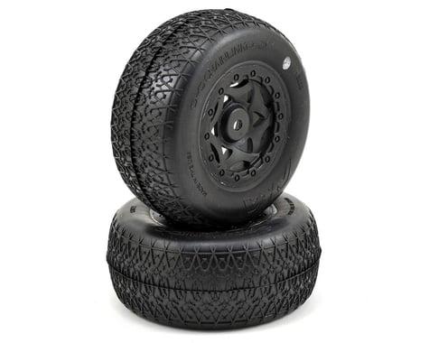 AKA Chain Link Wide SC Pre-Mounted Tires (22SCT/TEN-SCTE) (2) (Ultra Soft)